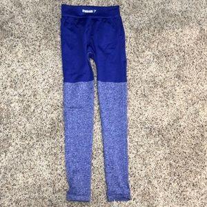 Gymshark Seamless indigo two tone leggings